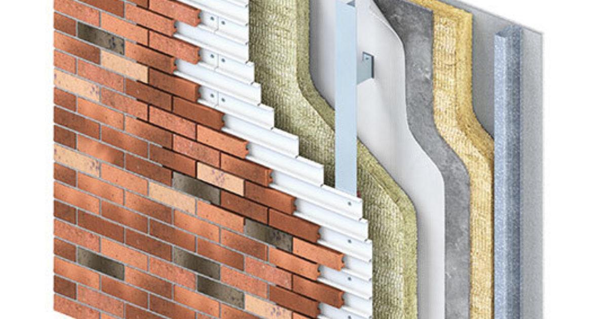 Corium Mechanically Fixed Brick Cladding Taylor Maxwell