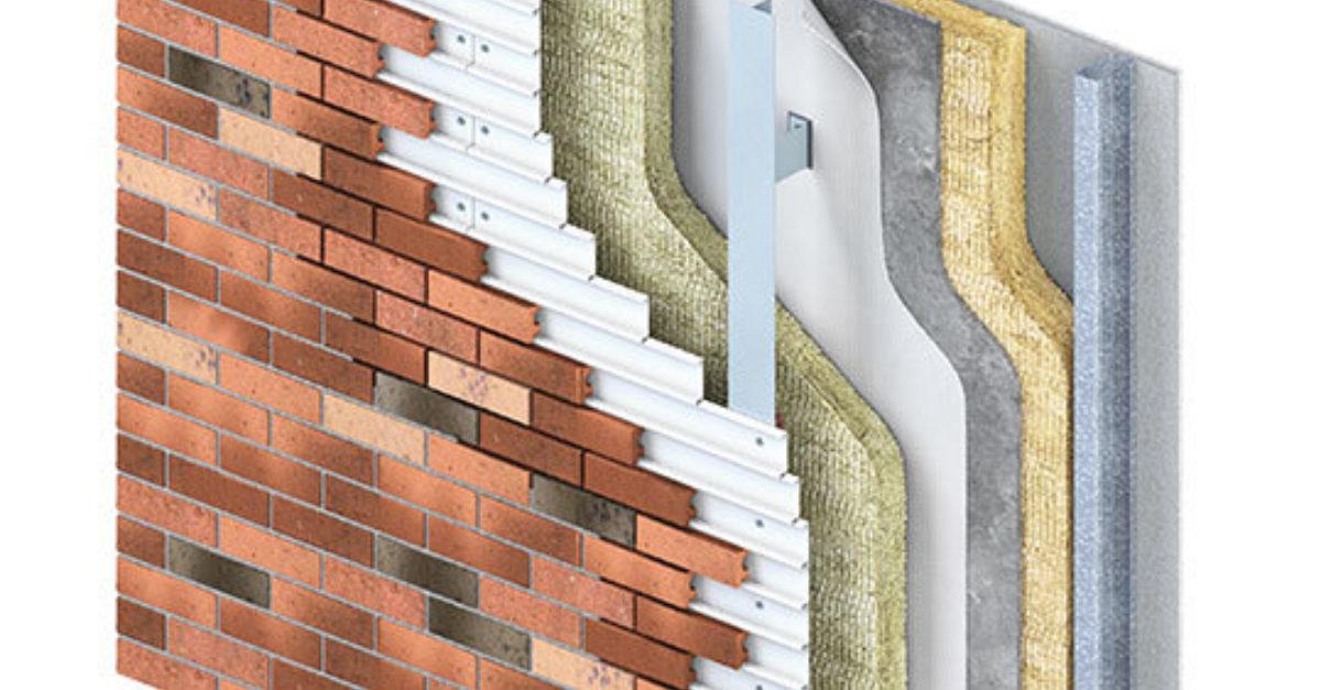 Mechanically Fixed Brick Cladding Corium Taylor Maxwell